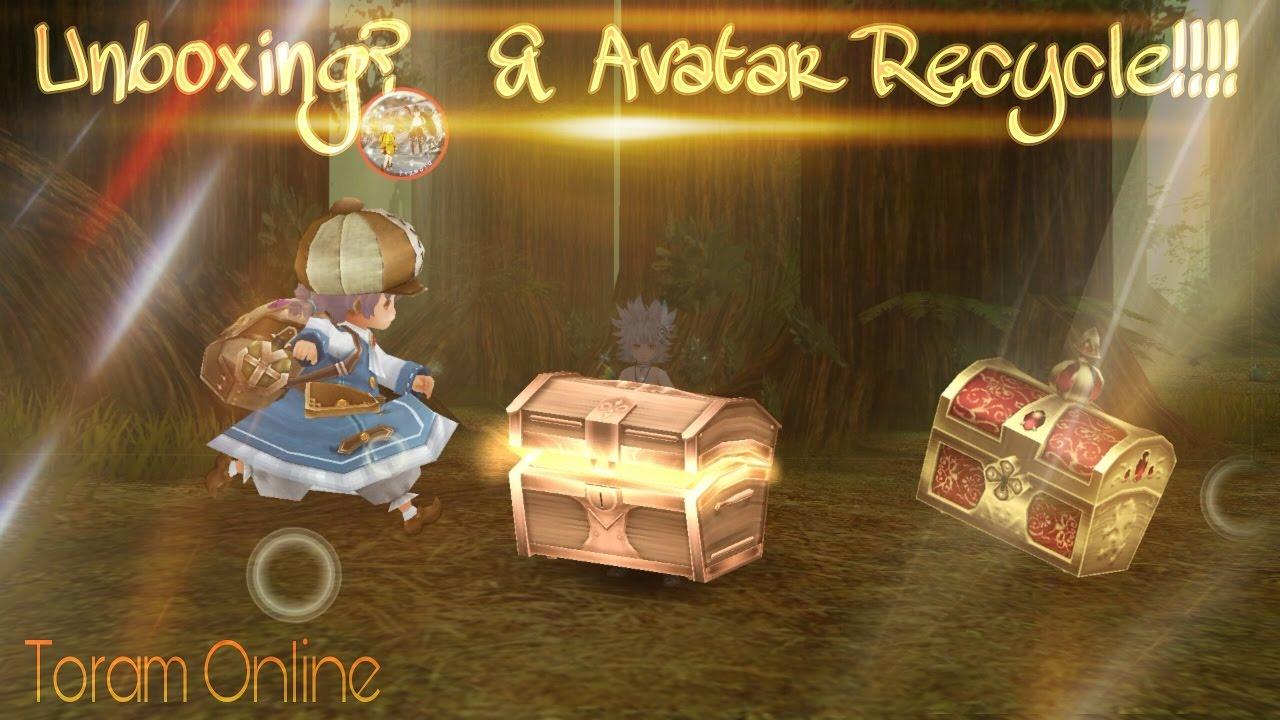 Unboxing? & Avatar Recycle!! // Toram Online // Piamoto - Taiga