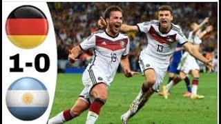 ألمانيا ~ الأرجنتين 1-0 نهائي كأس العالم 2014 تعليق رؤوف خليف