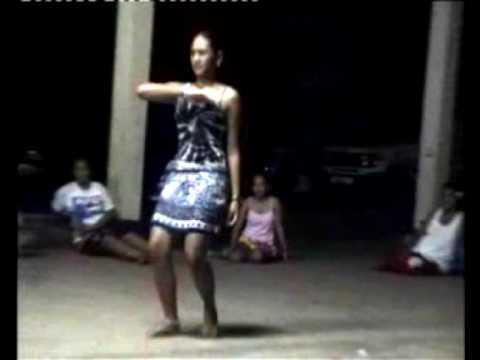 Marquesas Islands - NUKU HIVA Stage of dances