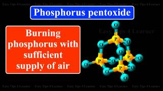 Oxides of phosphorus: Phosphorus pentoxide | Physical and Chemical properties | Uses