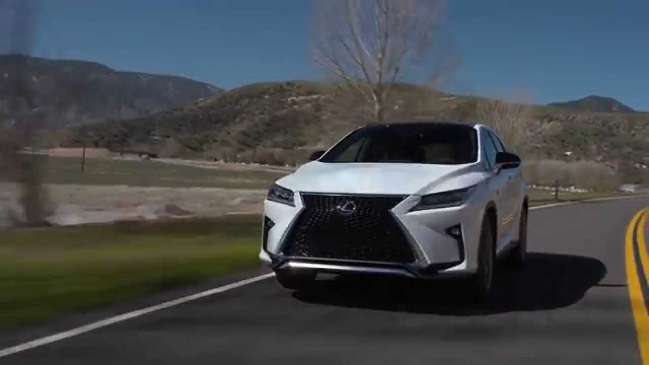 2016 lexus rx 350 f sport preview automototv youtube for 2000 lexus rx300 master window switch