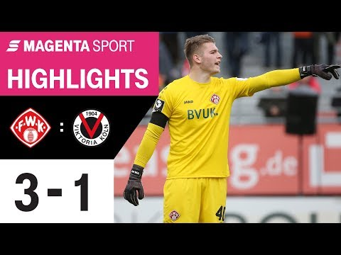 FC Würzburger Kickers - FC Viktoria Köln   Spieltag 18, 19/20   MAGENTA SPORT