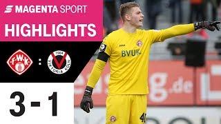 FC Würzburger Kickers - FC Viktoria Köln | Spieltag 18, 19/20 | MAGENTA SPORT