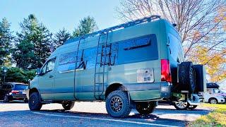 BEAST MODE | 4x4 Sprinter Camper Van Custom 4wd Overland Mercedes Build VAN LIFE