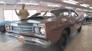 1969 Plymouth Roadrunnerfor sale at with test drive, driving sounds, and walk through video