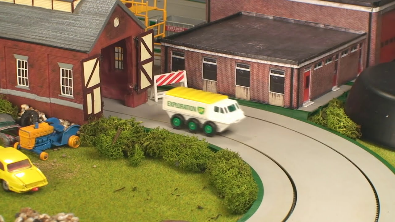 Toy Car Junkyard ~ part 1 Matchbox Collection - carros de juguete ...