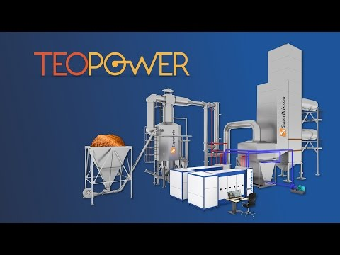 TEoPower the biomass to energy solution