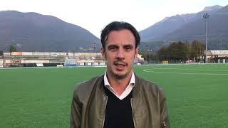 Le prime parole di Thomas Forzatti da tecnico della Juve Domo