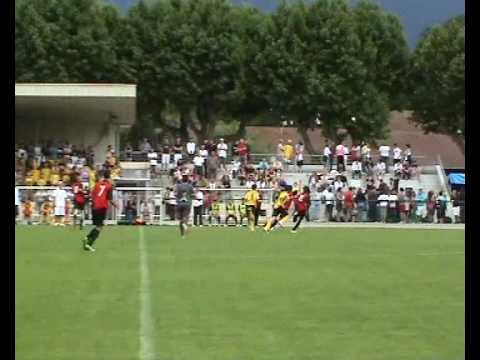 Foot  finale coupe isere U17 -US St-Romans - ASJF Domene le 12/ 06 /2010