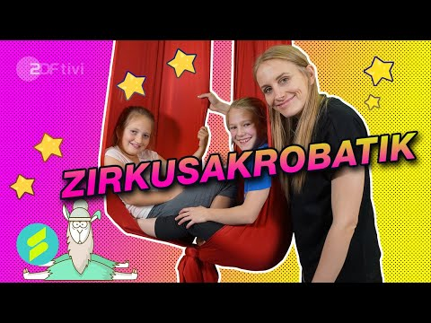 Die Sportmacher - Susanne testet Zirkusakrobatik   ZDFtivi