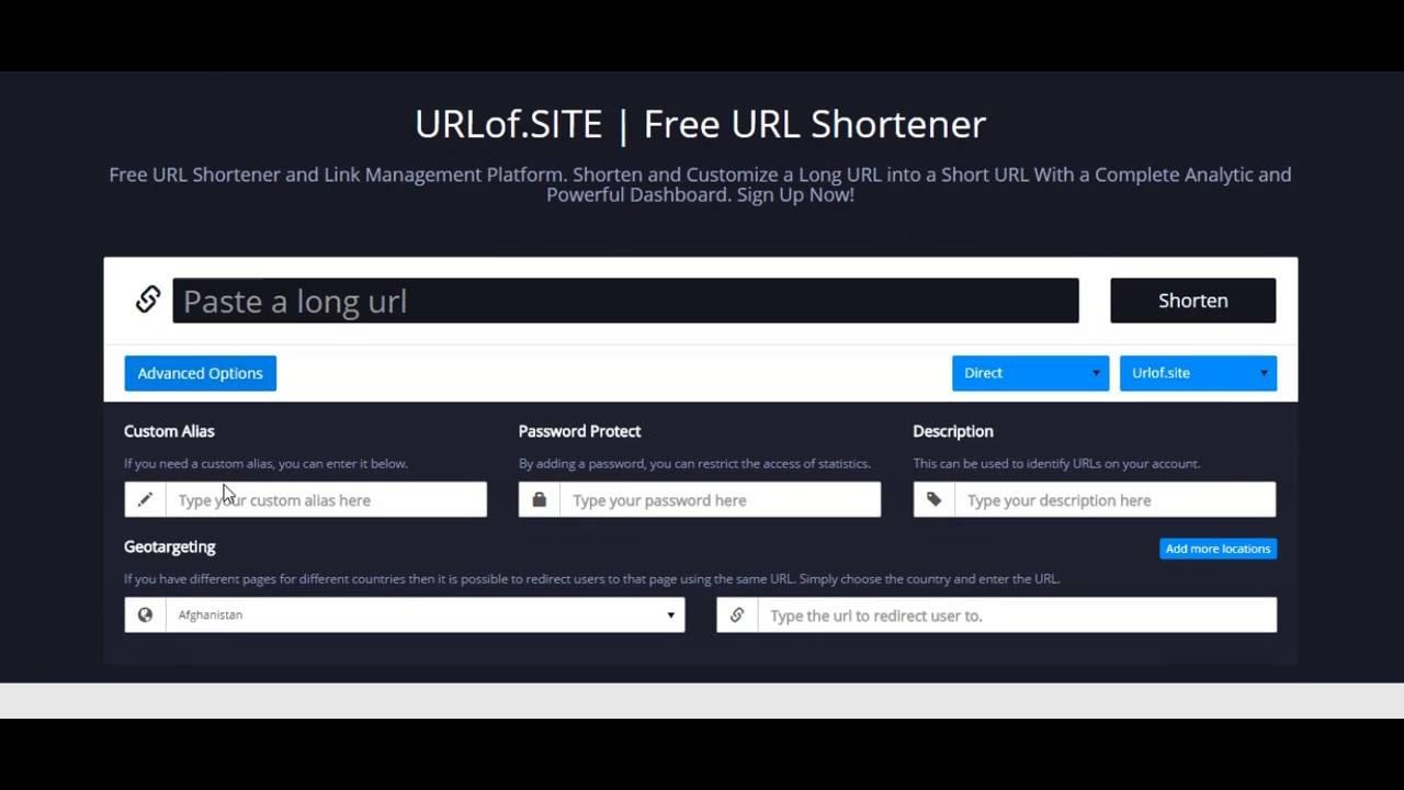 Bit URL Shortener | Url Shortener Api