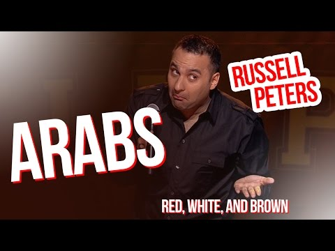 'Arabs' | Russell Peters - Red, White, and Brown
