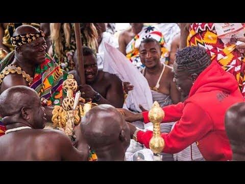 Shatta Wale - Vist to Manhyia Palace (Kumasi)