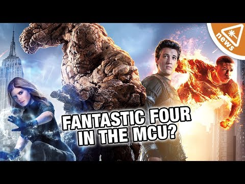 Is Marvel secretly working to get the X-Men & FF into the MCU? (Nerdist News w/ Jessica Chobot)