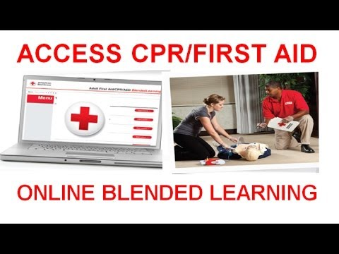How To Access Your Red Cross Blended Learning Online Content