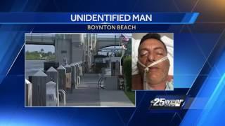 Man found unconscious, unidentified in Boynton Beach