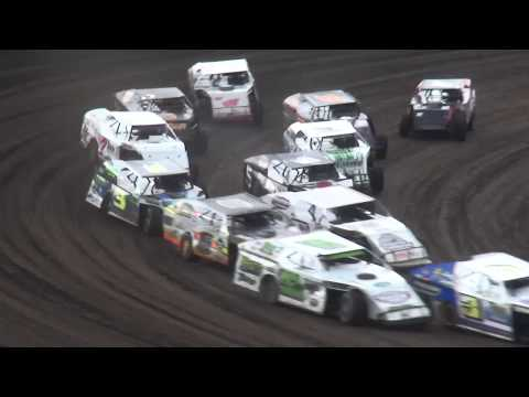 40th Annual Yankee Dirt Track Classic Modified Last Chance Race 2 Farley Speedway 9/2/17