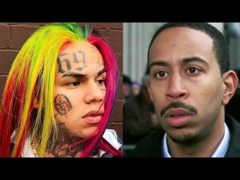 "6ix9ine Goes Off on Ludacris ""YOU WASHED UP"""