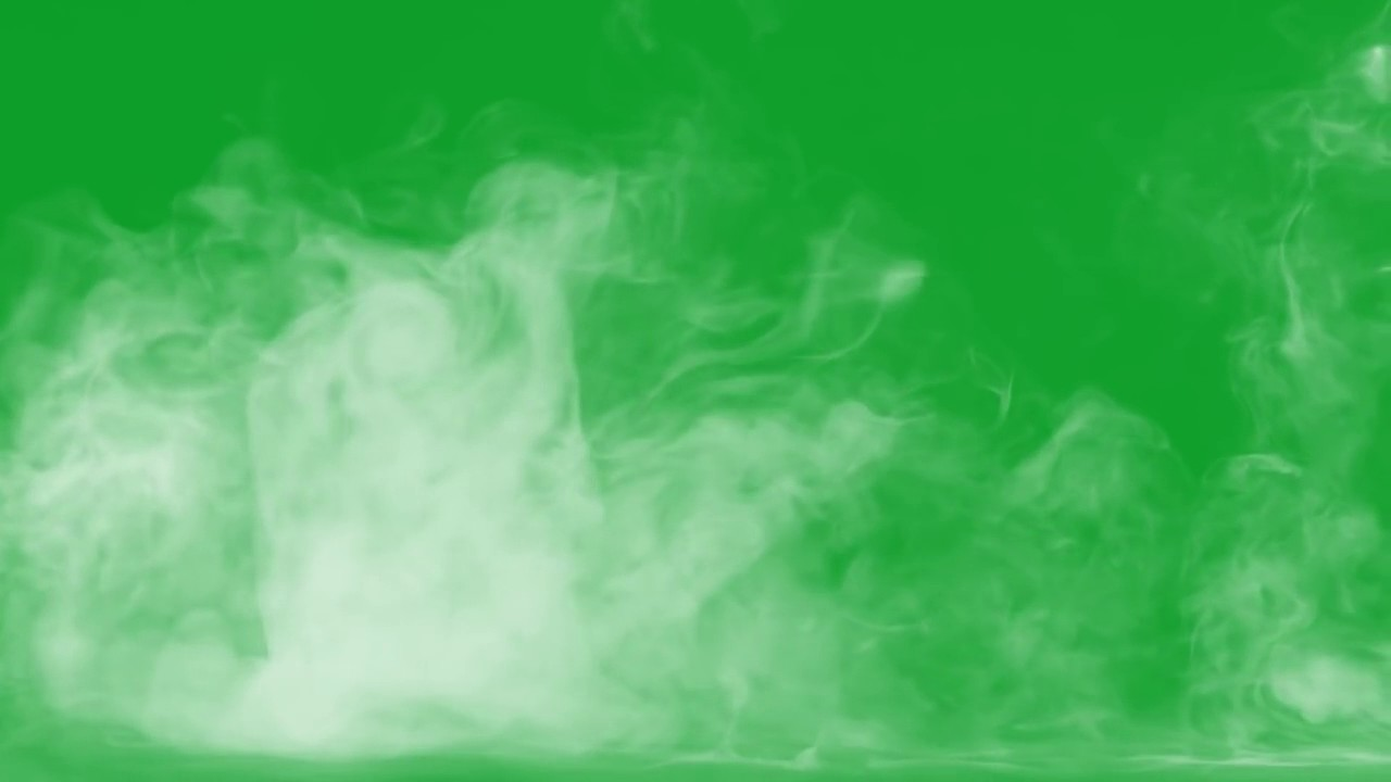 Download Smoke Green Screen Effect!