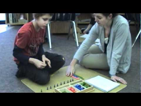 Bluffview Montessori School: Upper Elementary Work Time