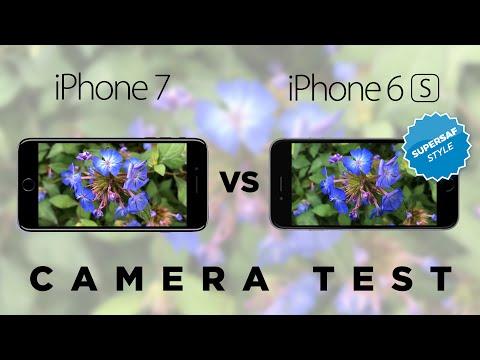 Iphone Vs 6s Camera Test Comparison