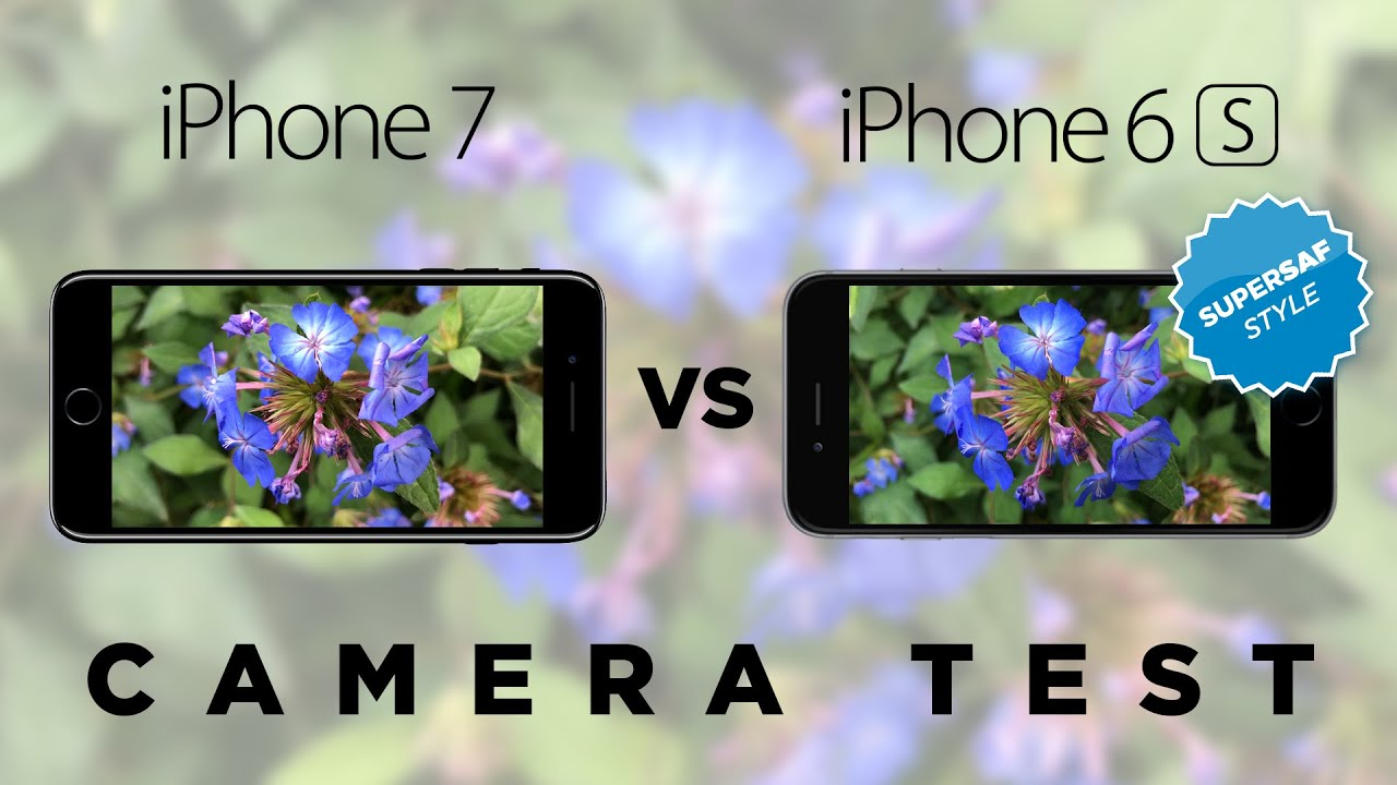 iphone 7 vs 6s camera test comparison youtube. Black Bedroom Furniture Sets. Home Design Ideas