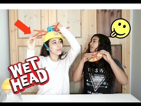 אתגר כובע המים עם אחותי! | עמנואל לוי