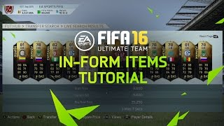 FIFA 16 Ultimate Team Tutorial - In-Form Items
