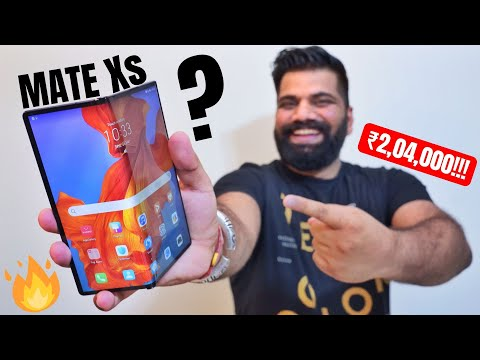 Huawei Mate Xs Unboxing & First Look - Best Folding Phone? My New Super Smartphone🔥🔥🔥