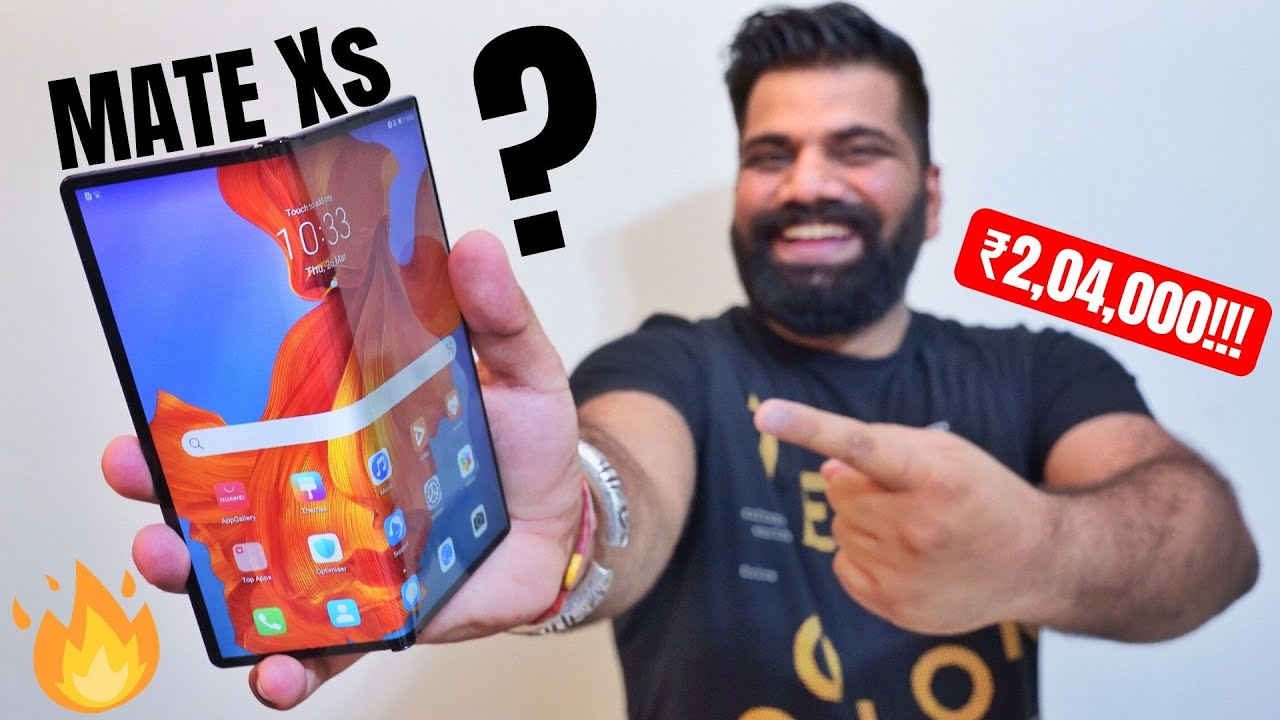 Huawei Mate Xs Unboxing & First Look - Best Folding Phone? My New Super Smartphone???