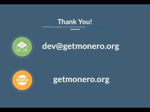 Monero Talk at Bitcoinference
