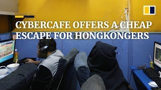 Hong Kong cybercafe offers a cheap getaway from pressures of lifpressures e