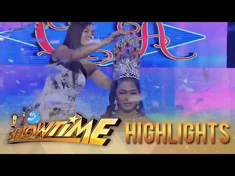 It's Showtime Miss Q & A:  Eula Vega wins her fifth crown!