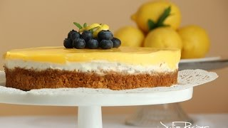 BEST Lemon Cheesecake with sour cream - JULIA RECIPES