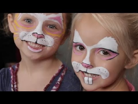 Face Painting For Kids Rabbits Halloween Costume Tips