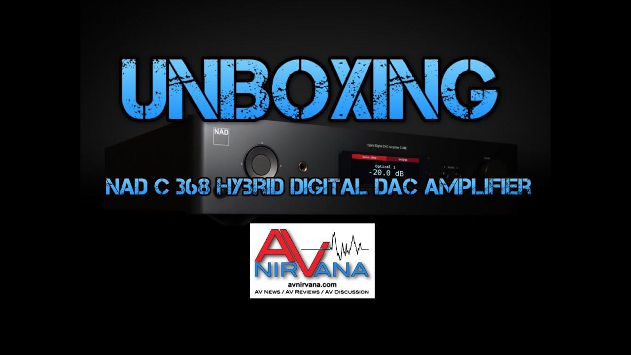 NAD C 368 Hybrid Digital DAC Amplifier w/BluOS Review | AV