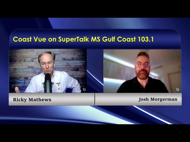 Coast Vue with Ricky Mathews talks to John Ferrucci, from Silver Slipper Casino, and Josh Morgerman