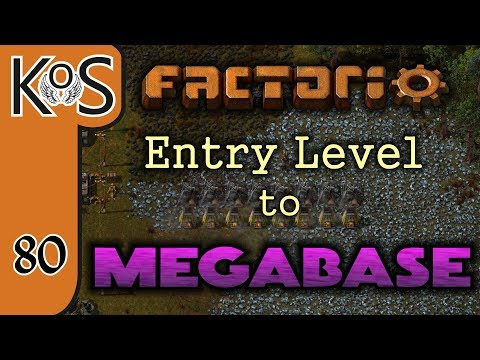 Factorio: Entry Level to Megabase Ep 80: TRAINS HERE THERE & EVERYWHERE - Tutorial Series Gameplay