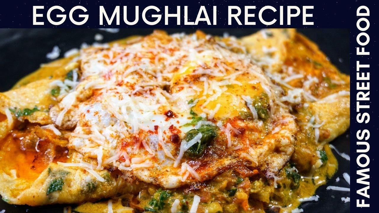 Egg Mughlai Recipe | Indore Special Street Food | Unique Recipe From Egg | Egg Recipe Easy & Quick