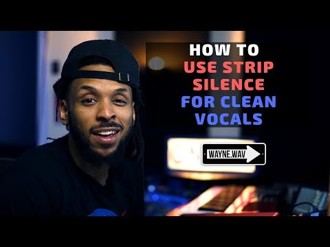 How to Get Clean Tracks in Pro Tools Using Strip Silence