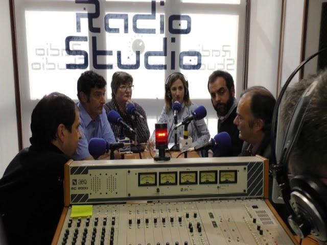 Debate de candidatos a la secretaria general del PSOE de Torrelavega en Radio Studio