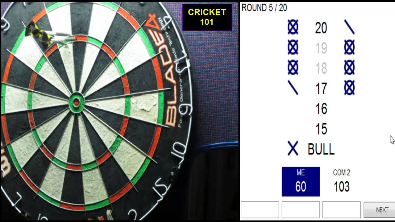 Darts Cricket
