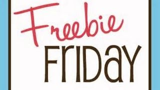 FREEBIE FRIDAY ~ by The Frugalnista! Thumbnail