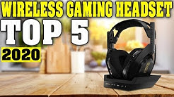 TOP 5: Best Wireless Gaming Headset 2020