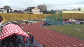 105年臺中市中等學校運動會[田徑]國男組100公尺決賽