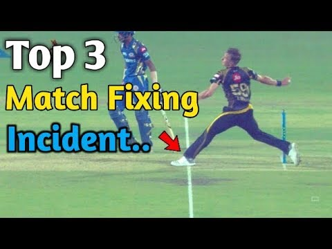 Top 3 Match Fixing Incident in Cricket History|| All The Tim