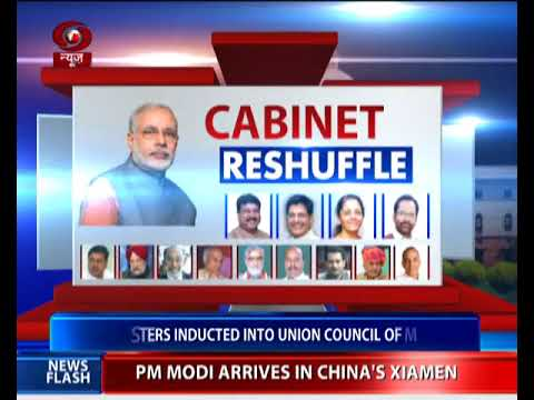 9 new ministers inducted into Union Council of Ministers