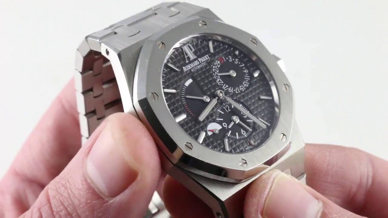 Audemars Piguet Royal Oak Dual Time 26120st Oo 1220st 03 Luxury