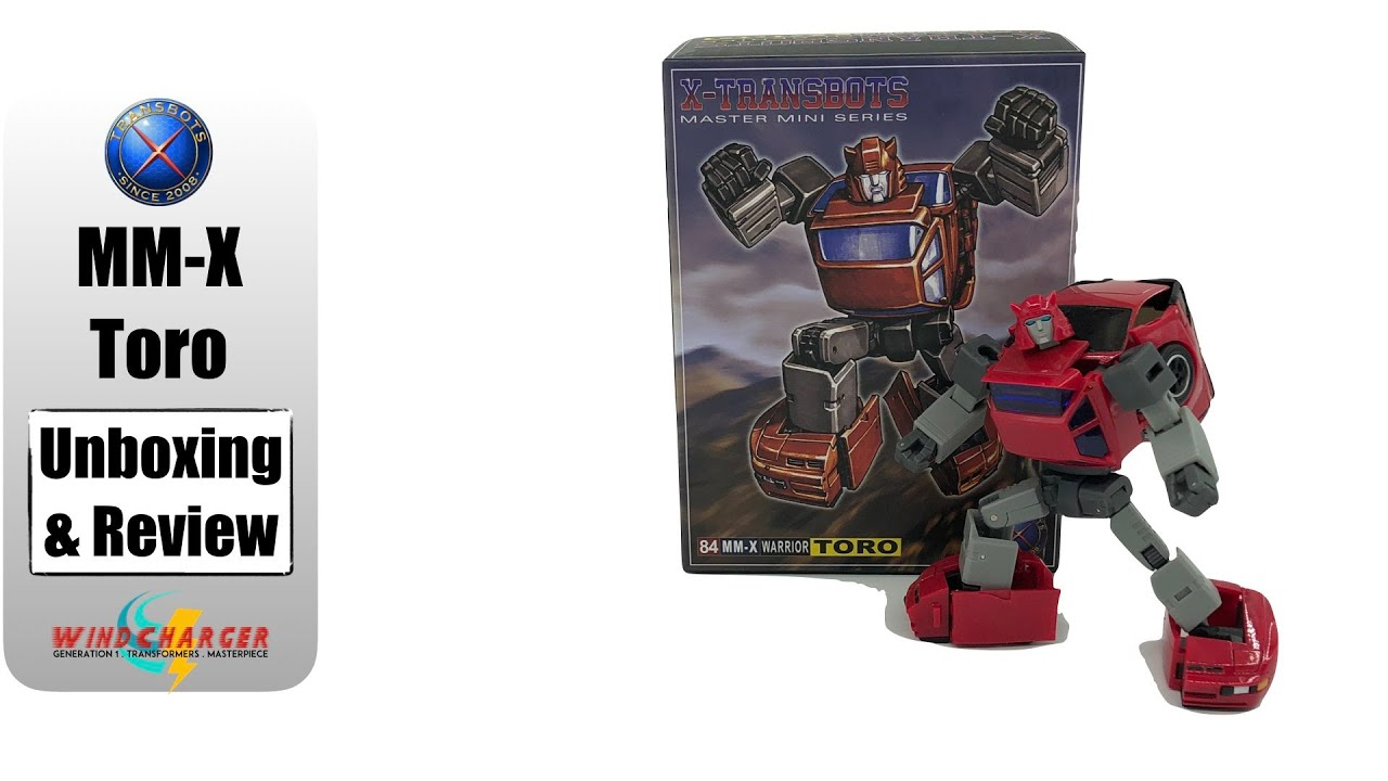 IN STOCK Transformers toy X-Transbots MM-X Toro G1 Cliffjumper Action figure NEW