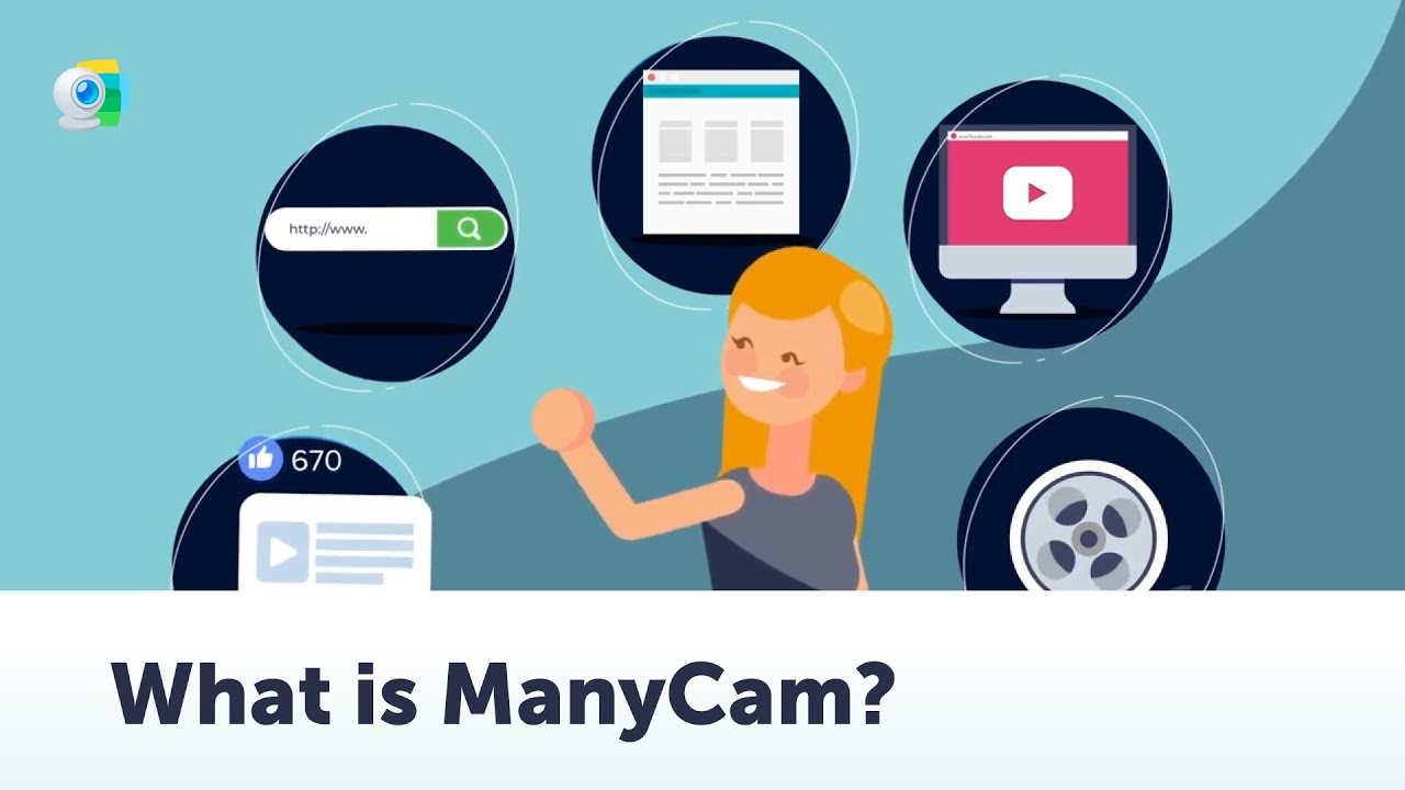 Free webcam software and screen recorder | ManyCam